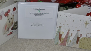 Kent woman builds business from recycling Christmas cards